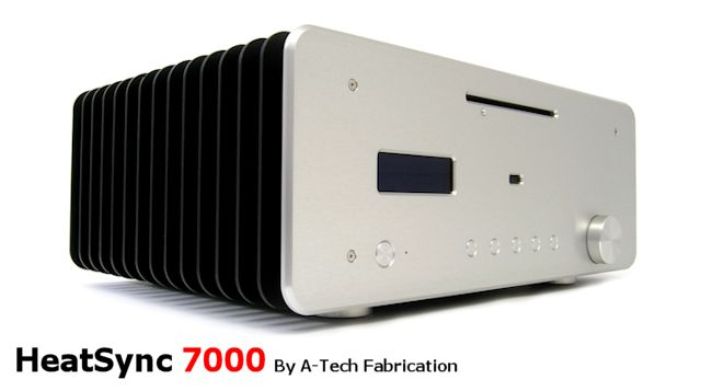 HeatSync 7000 - Silent, Fanless ATX high performance computer