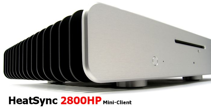 HeatSync 2800HP - Silent, Fanless High-Performance HTPC